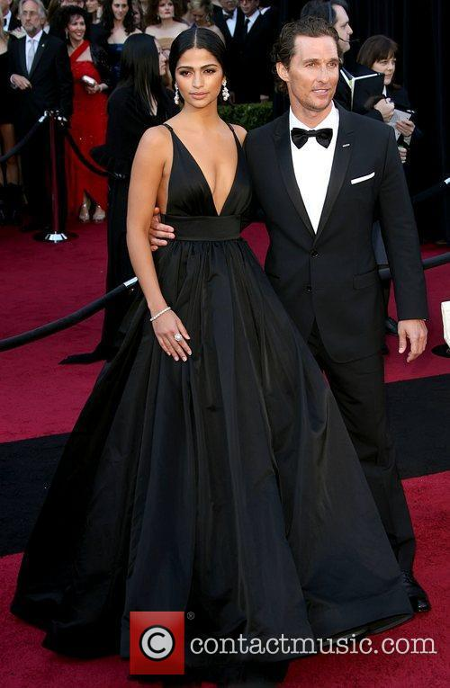 Camila Alves, Matthew Mcconaughey and Academy Of Motion Pictures And Sciences 2