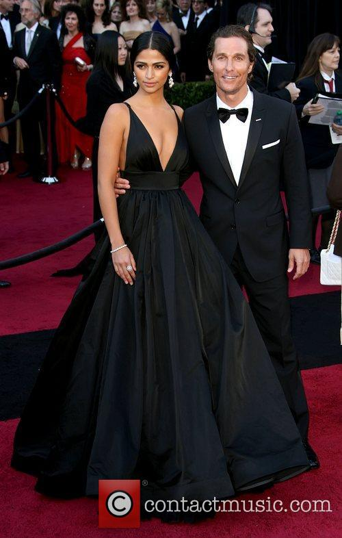 Camila Alves, Matthew Mcconaughey and Academy Of Motion Pictures And Sciences 3