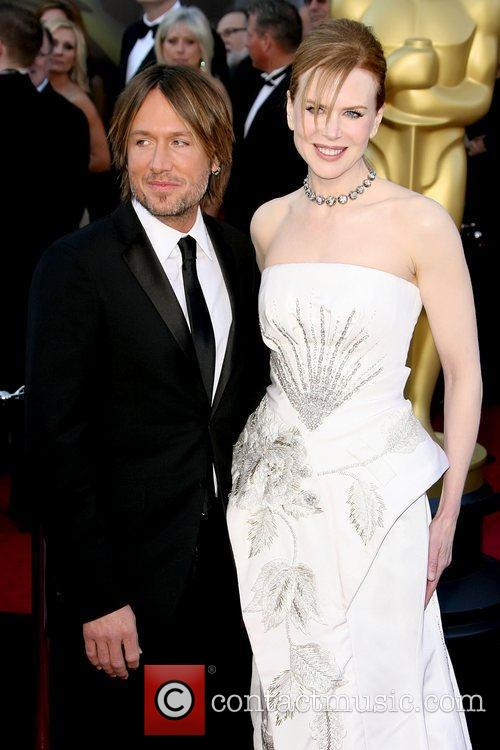 Keith Urban and Nicole Kidman 83rd Annual Academy...