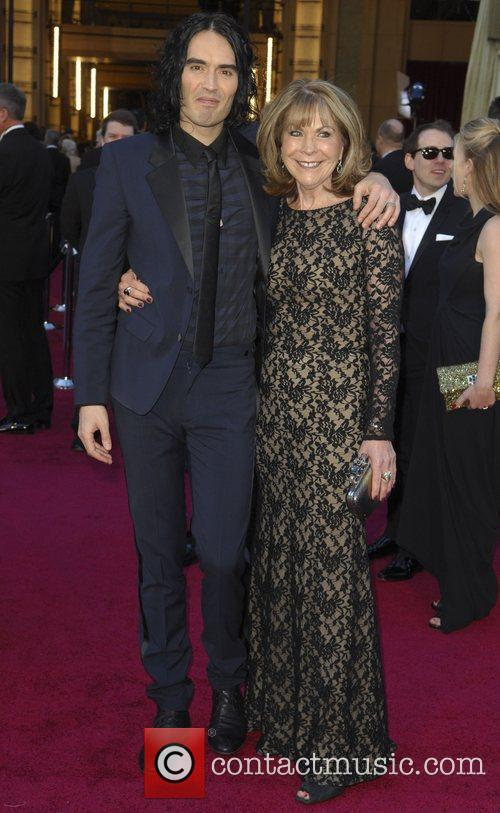 Russell Brand and mother Barbara Brand 83rd Annual...