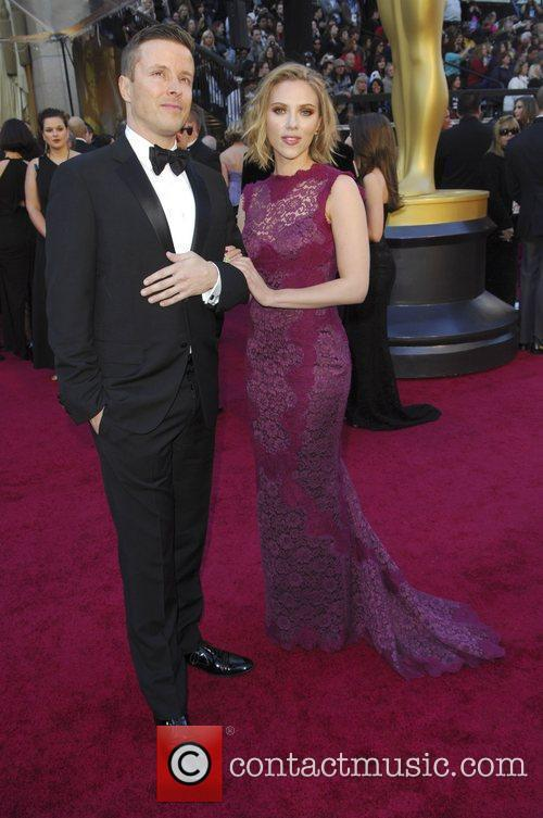Scarlett Johansson and Guest 83rd Annual Academy Awards...
