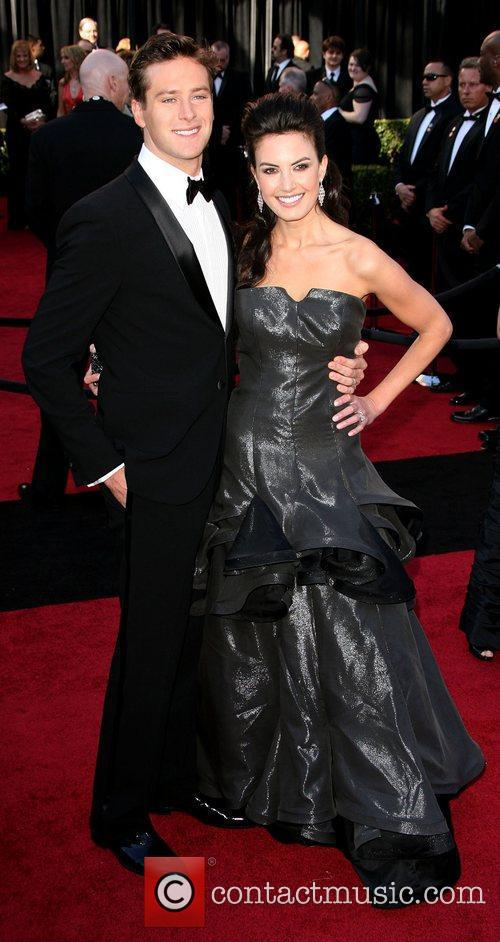 Armie Hammer and Elizabeth Chambers 83rd Annual Academy...
