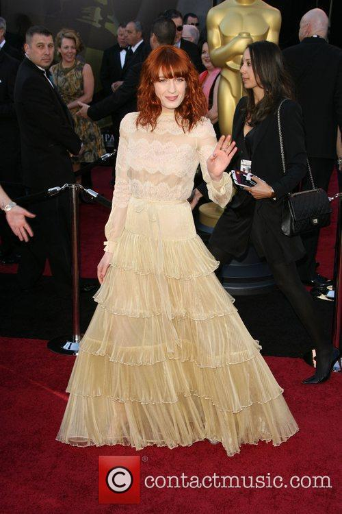 Florence Welch and Academy Of Motion Pictures And Sciences 2