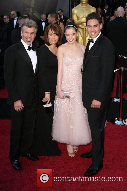 Haliee Steinfield and guests 83rd Annual Academy Awards...