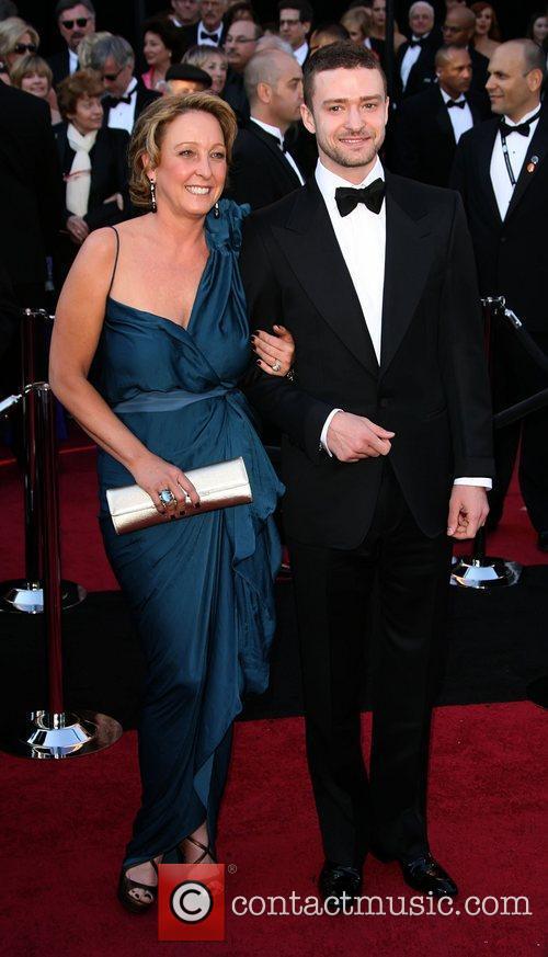 Lynn Harless and Justin Timberlake 83rd Annual Academy...