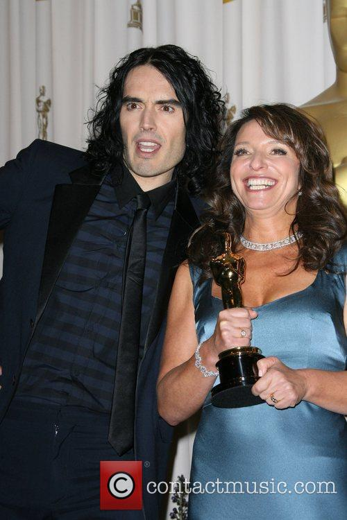 Russell Brand, Susanne Bier and Academy Of Motion Pictures And Sciences 2