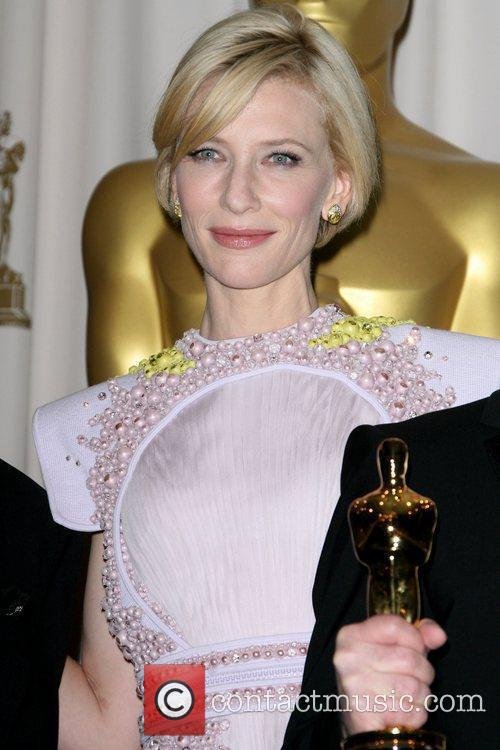 Cate Blanchett and Academy Of Motion Pictures And Sciences 1