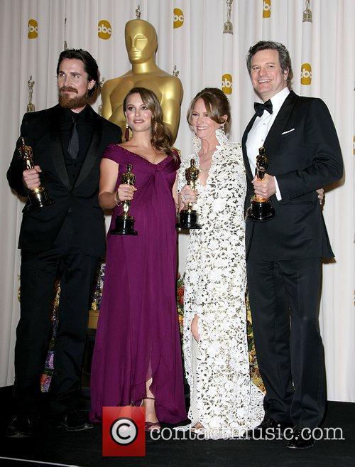 Christian Bale, Natalie Portman, Melissa Leo and Colin...