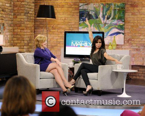 Appearing on CTV's 'Marilyn Denis Show'