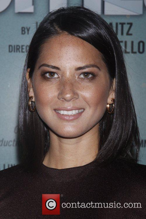 Olivia Munn and The Booth Theatre 2