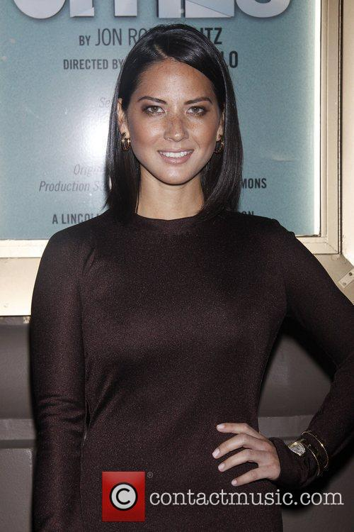 Olivia Munn and The Booth Theatre 1
