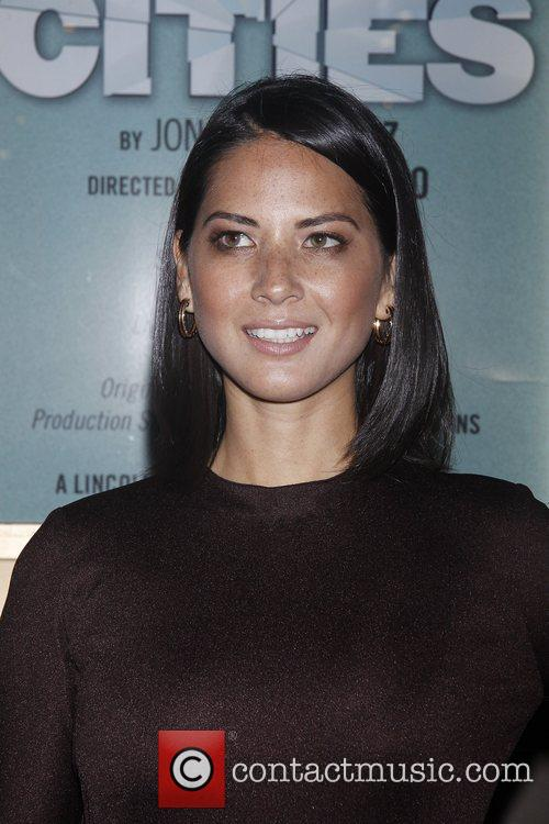 Olivia Munn and The Booth Theatre 4
