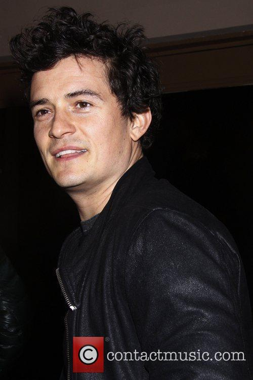 Orlando Bloom Opening night of the Lincoln Center...