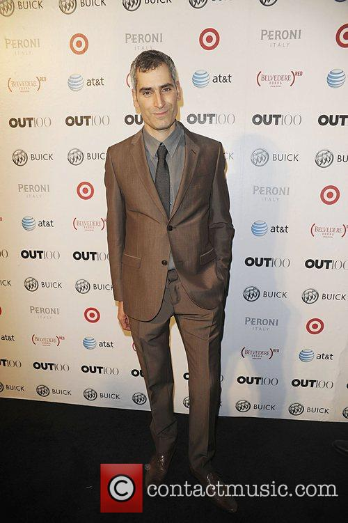 Aaron Hicklin attending the 2011 OUT 100 at...