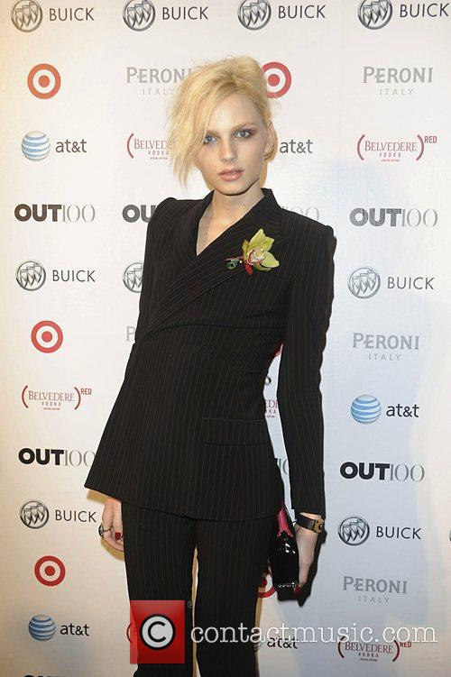 Andrej Pejic attending the 2011 OUT 100 at...