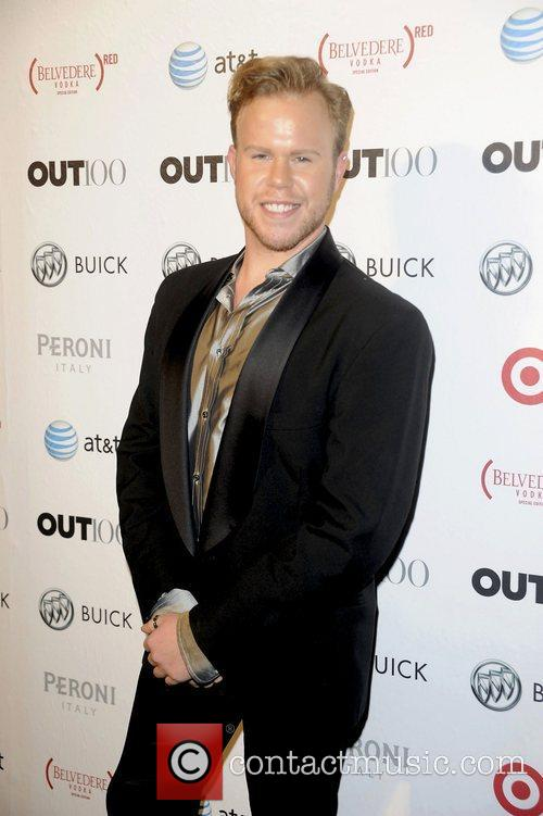Andrew Warner attending the 2011 OUT 100 at...