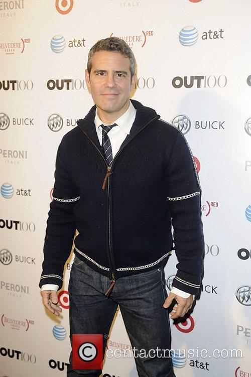 Andy Cohen attending the 2011 OUT 100 at...