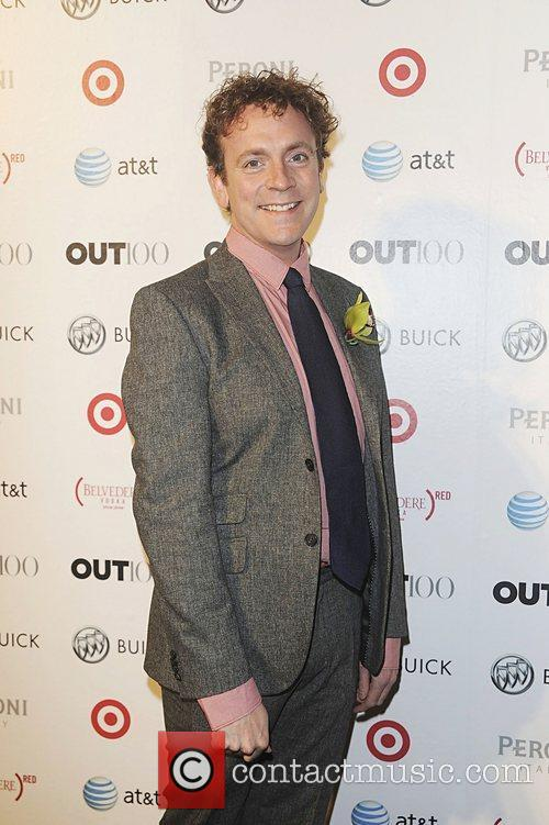 Drew Droege attending the 2011 OUT 100 at...