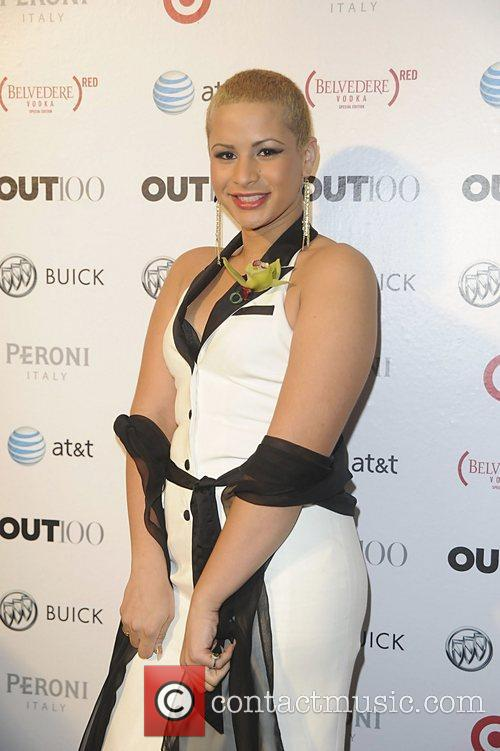 Harmony Santana attending the 2011 OUT 100 at...