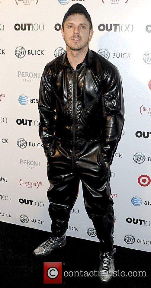 Jake Shears attending the 2011 OUT 100 at...