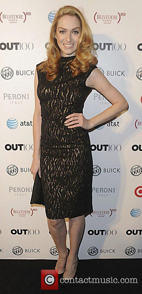 Jamie Clayton attending the 2011 OUT 100 at...
