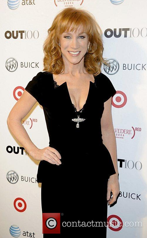 Kathy Griffin attending the 2011 OUT 100 at...
