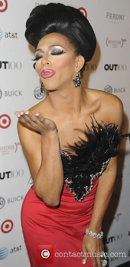 Shangela attending the 2011 OUT 100 at the...