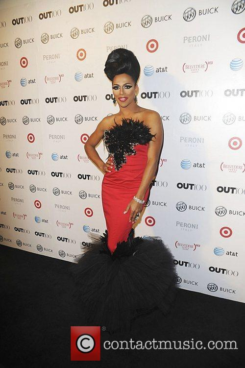 Singer Wynter Gordon attending the 2011 OUT 100...