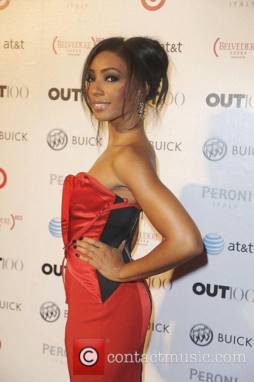 Wynter Gordon attending the 2011 OUT 100 at...