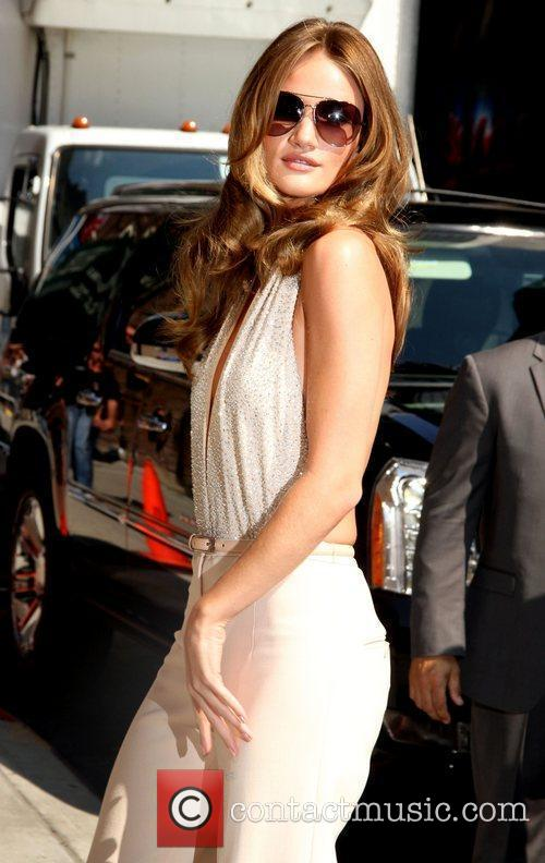 Rosie Huntington-Whiteley 'The Late Show with David Letterman'...