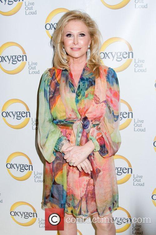 Kathy Hilton Oxygen Upfront presentation at the Gotham...