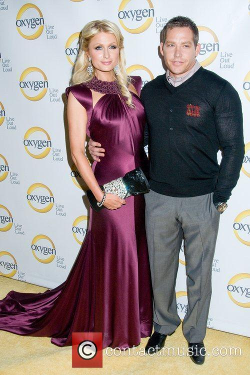 Paris Hilton and Cy Waits Oxygen Upfront presentation...