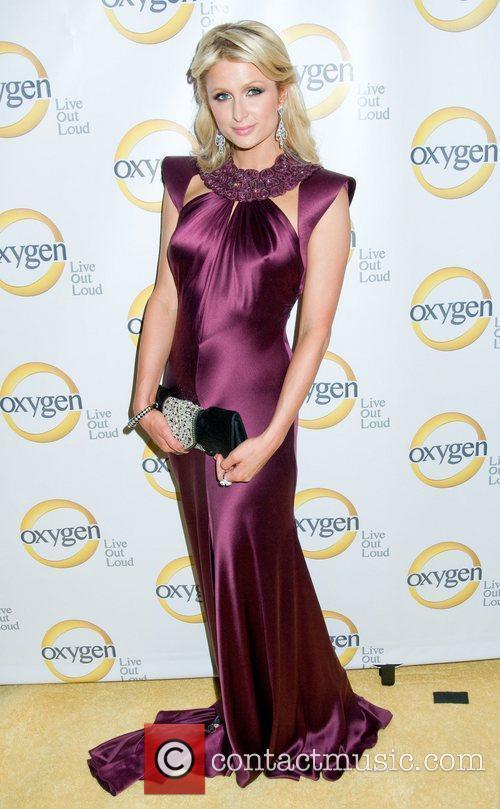 Paris Hilton Oxygen Upfront presentation at the Gotham...