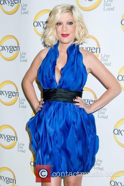 Tori Spelling  Oxygen Upfront presentation at the...