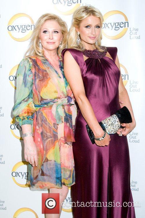 Paris and Kathy Hilton Oxygen Upfront presentation at...
