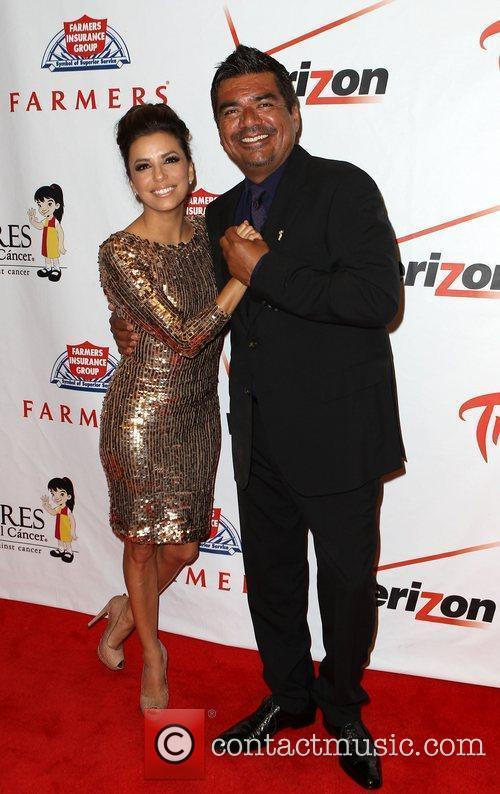 Eva Longoria and George Lopez 10