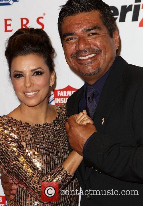 Eva Longoria and George Lopez 3