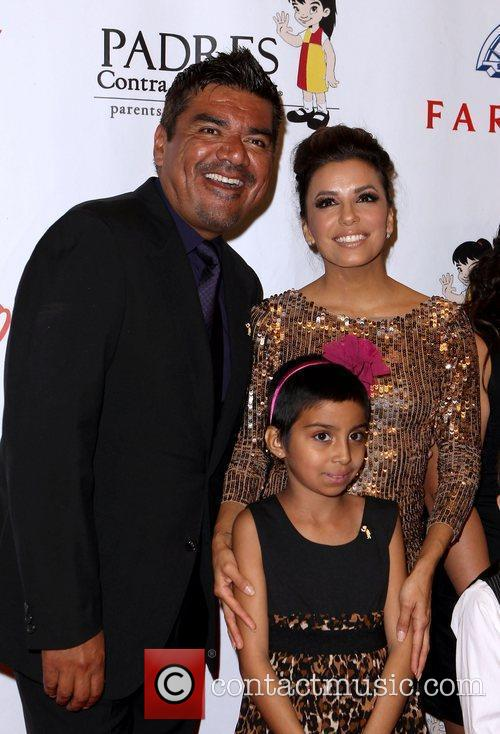 George Lopez and Eva Longoria 5
