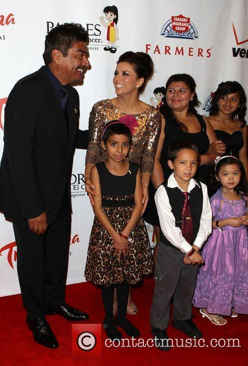 George Lopez and Eva Longoria 6