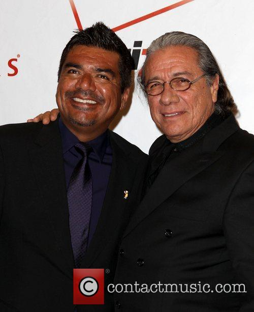 George Lopez and Edward James Olmos 9