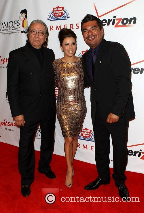 George Lopez, Edward James Olmos and Eva Longoria 8