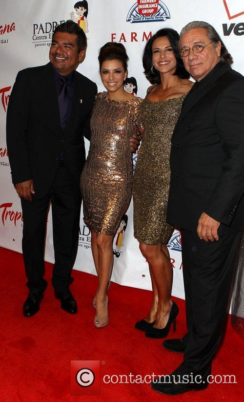 George Lopez, Edward James Olmos and Eva Longoria 10