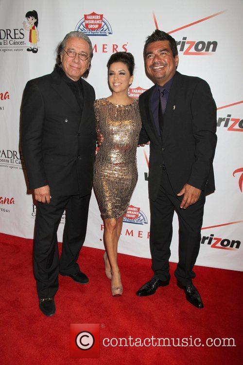 Edward James Olmos, Eva Longoria and George Lopez 5