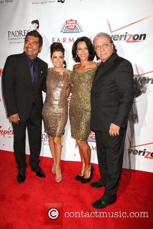 George Lopez, Alejandra Guzman, Edward James Olmos and Eva Longoria 1