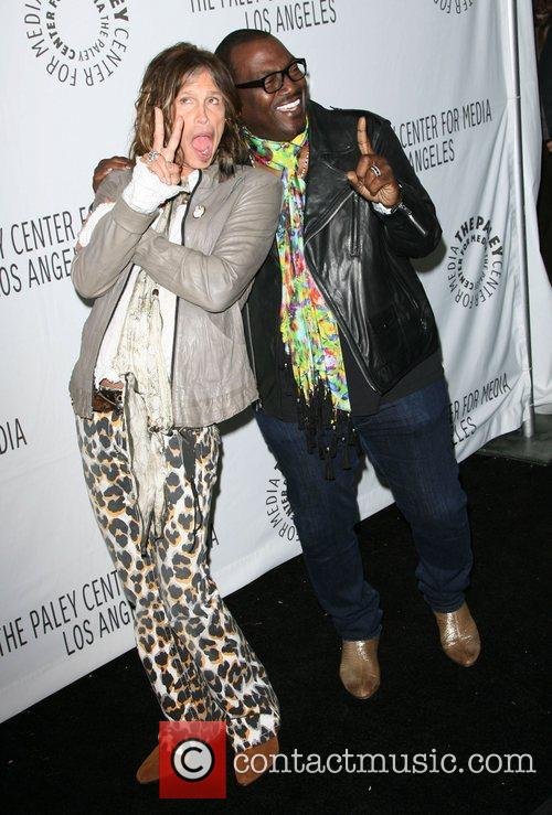 Steven Tyler and Randy Jackson 3