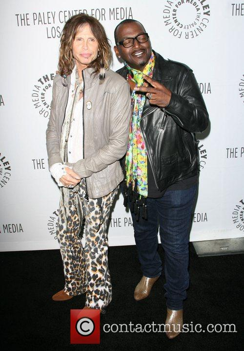 Steven Tyler and Randy Jackson 1