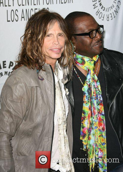 Steven Tyler and Randy Jackson 4