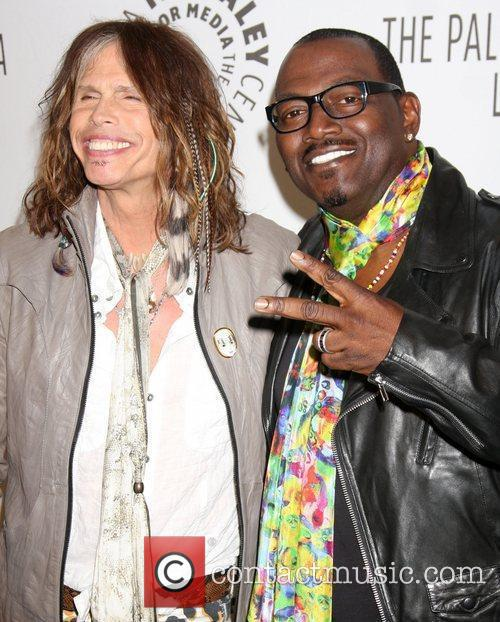 Steven Tyler and Randy Jackson 5