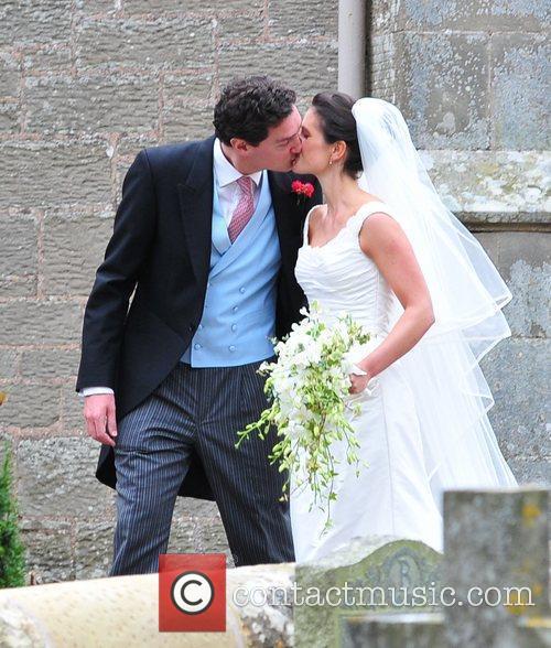 Andrew Charlton and Edwina Palmer  The wedding...
