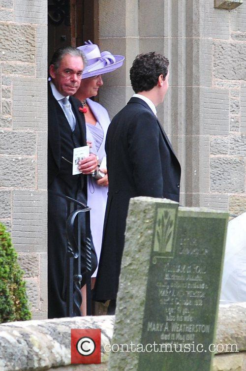 The wedding of Andrew Charlton and Edwina Palmer...